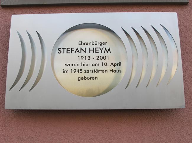 Literarischer Rundgang zu Stefan Heym