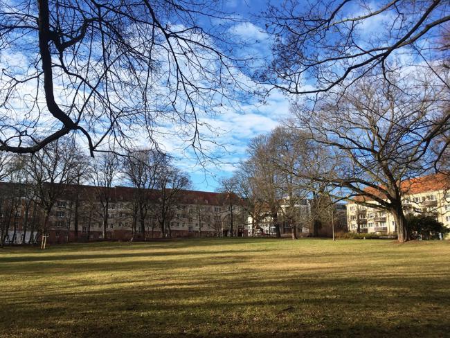 Der Gerhart-Hauptmann-Platz